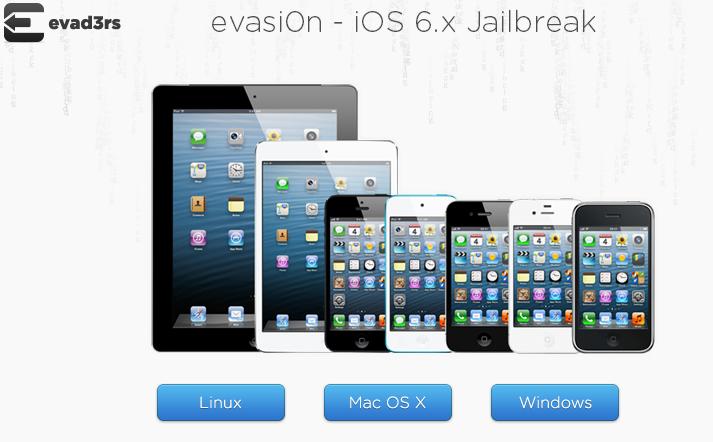 evasi0n iOS 6.x Jailbreak   official website of the evad3rs